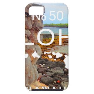 Aloha No 50 Tiki iPhone 5 Covers