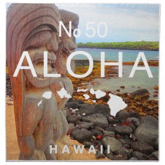 Aloha No 50 Tiki Napkin