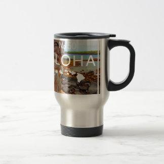 Aloha No 50 Tiki Travel Mug