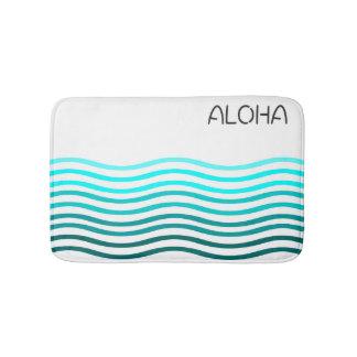Aloha ombre waves bath mat bath mats