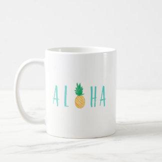 Aloha Pineapple Tropical Coffee Mug