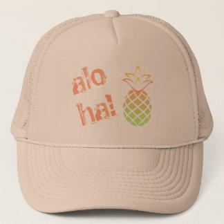 Aloha Pineapple Trucker Hat! Trucker Hat