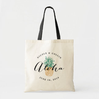 Aloha Pineapple | Wedding Welcome Bag