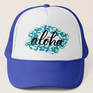 Aloha Plumeria Lei Trucker Hat