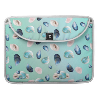 Aloha SeaShell Sea Shell Pearl Pattern Sleeve For MacBooks