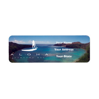 Aloha Stand Up Paddle and Hanauma Bay Return Address Label