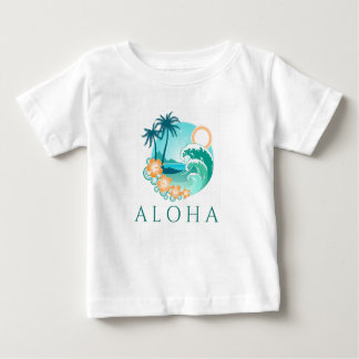 Aloha Tropical Baby T-Shirt