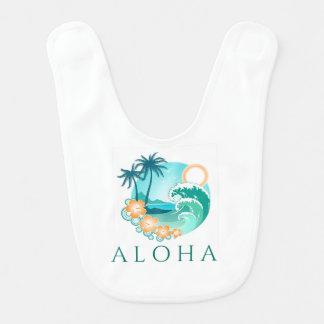 Aloha Tropical Bib