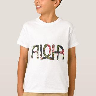 Aloha Tropical Black T-Shirt
