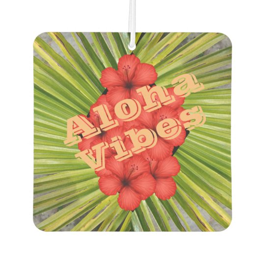 Aloha Vibes Car Air Freshener