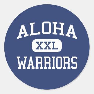 Aloha - Warriors - High School - Aloha Oregon Stickers