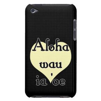 Aloha wau ia 'oe - Hawaiian I love you (3) Yellow iPod Touch Cases