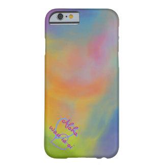 Aloha wau ia oi I Love you Hawaiian Style Case iPhone 6 Case