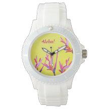 Aloha! Women's Sporty Watch