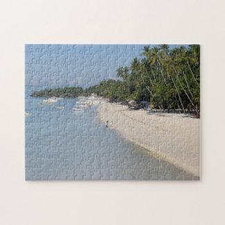 Alona Beach, Panglao Island, Bohol, Philippines Jigsaw Puzzle