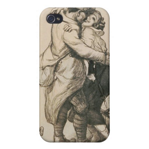 Alone at Last Enfin Seuls World War I Drawing iPhone 4/4S Case