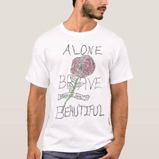 Alone Brave & Beautiful T-shirt