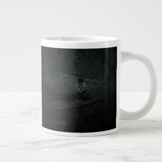 Alone In A Big World Large Coffee Mug