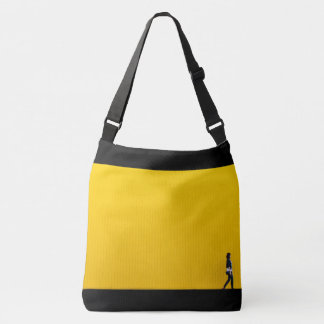 alone in this wold crossbody bag