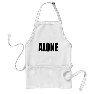 alone party night summer end invitation flirt roma standard apron