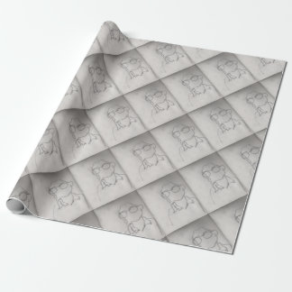 Alone Wrapping Paper