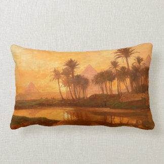 Along the Nile Lumbar Pillow