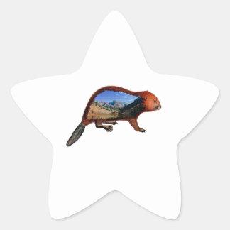 Along the Riverbend Star Sticker