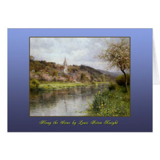 Along the Seine by Louis Aston Knight Card