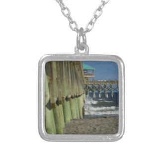 Alongside Folly Pier Silver Plated Necklace
