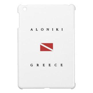 Aloniki Greece Scuba Dive Flag iPad Mini Case