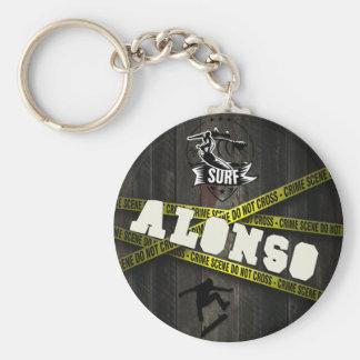 ALONSO - Skater Style Key Ring