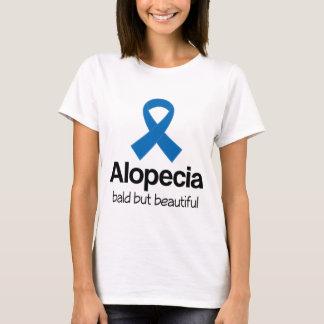 Alopecia Blue Awareness Ribbon quote T-Shirt