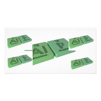 Alp as Al Aluminium  and P Phosphorus Photo Cards