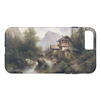 Alp Water Mill River Cabin Wilderness iPhone  Case
