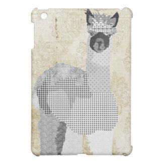 Alpaca Art Black White Damask iPad Mini Cases