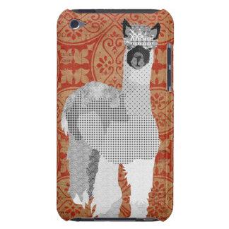 Alpaca Art Orange Case Barely There iPod Cover