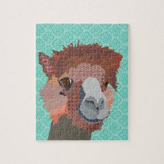 Alpaca Art Puzzle
