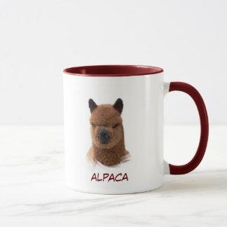 Alpaca Calendar Girl Mug