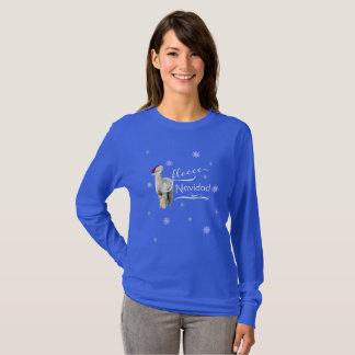 Alpaca Christmas Shirt