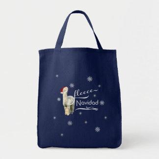 Alpaca Christmas Totes