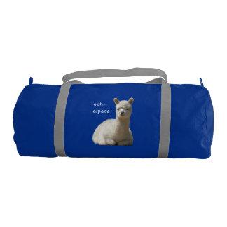 Alpaca Duffle Gym Bag Gym Duffel Bag