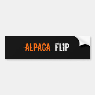 AlpacA, FliP Bumper Sticker