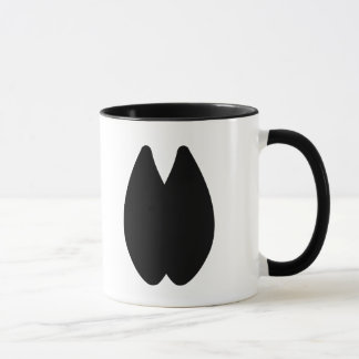 Alpaca Footprint Mug