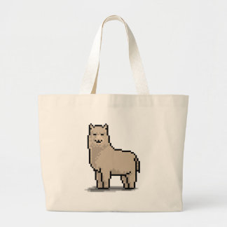 Alpaca Grace Large Tote Bag