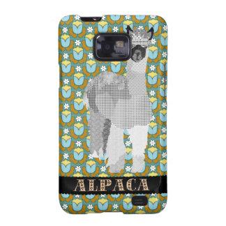 Alpaca Green Vintage Floral Case Galaxy SII Case