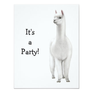 Alpaca Invitation