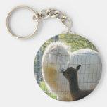 Alpaca Kisses Keychain