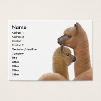 Alpaca Love Business Card