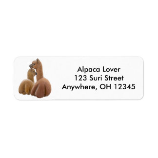 Alpaca Love Label