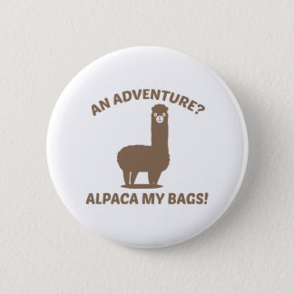 Alpaca My Bags 6 Cm Round Badge